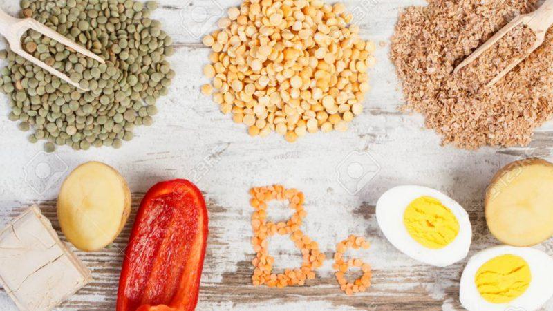 Продукты с пантотеновой кислотой и витамином B6